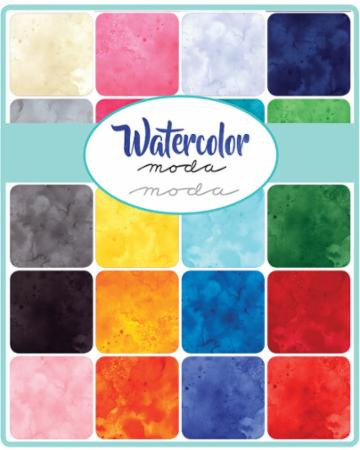 Moda Fat Quarter Bundle - Watercolor by Moda