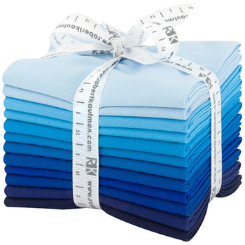 Robert Kaufman Fat Quarter Bundle - Waterfall Palette