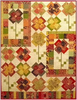 Flower Patch Quilt Pattern