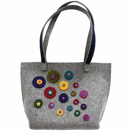 OCTOBER RELEASE - WFW Challenge Carry All Tote Bag Kit Wooly Felted Wonders
