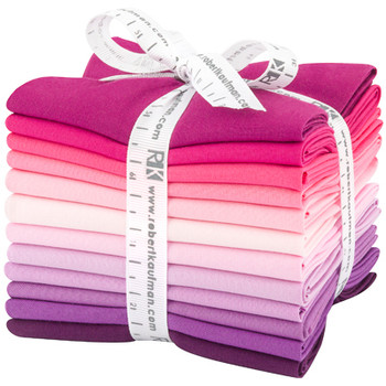 Robert Kaufman Fat Quarter Bundle - Wildberry Palette