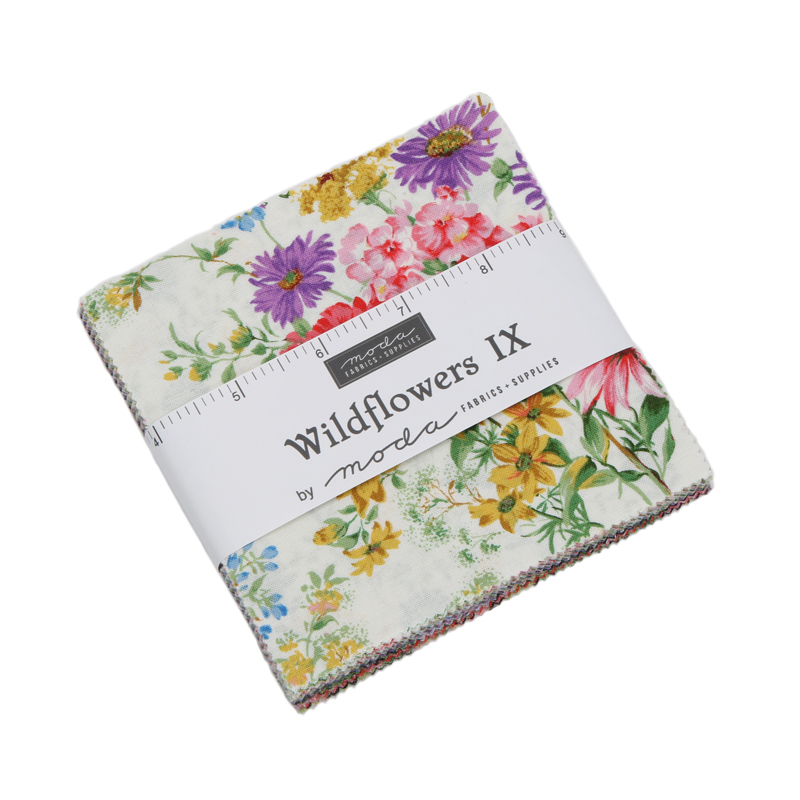 Moda Charm Pack - Wildflowers IX by Moda