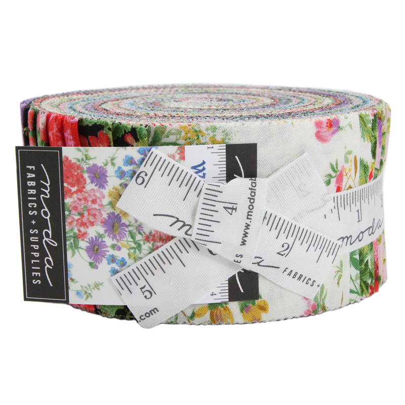 Moda Jelly Roll - Wildflowers IX by Moda