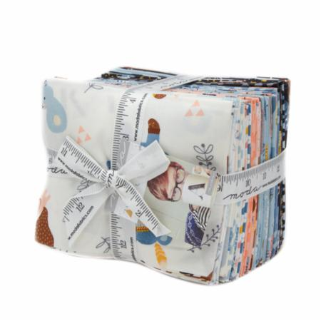Moda Fat Quarter Bundle - Wild & Free by Abi Hall