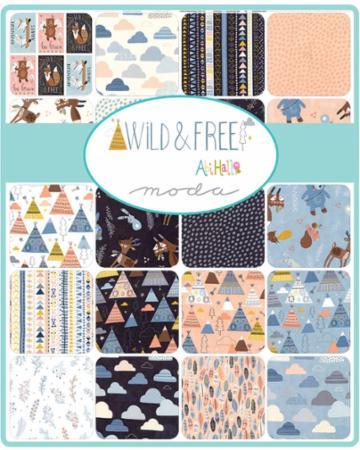 Moda Fat Eighth Bundle - Wild & Free by Abi Hall