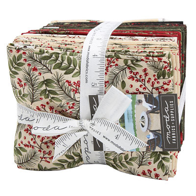 Moda Fat Quarter Bundle - Winter Manor by Holly Taylor