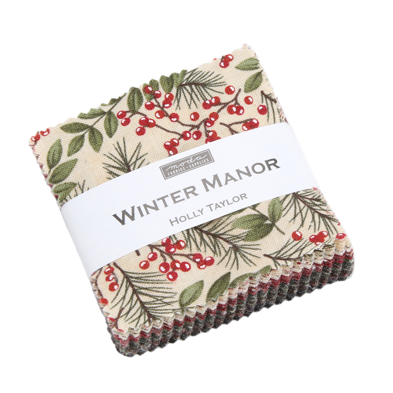 Moda Mini Charm - Winter Manor by Holly Taylor