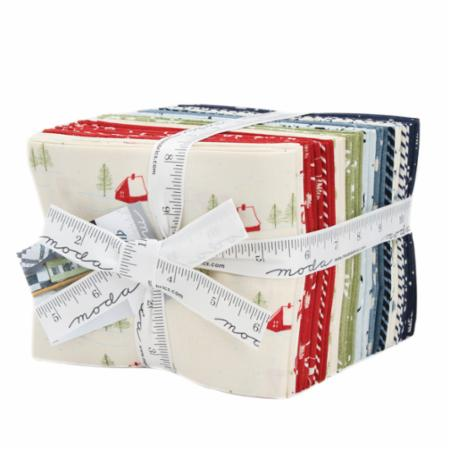 Moda Fat Quarter Bundle - Wintertide by Janet Clare