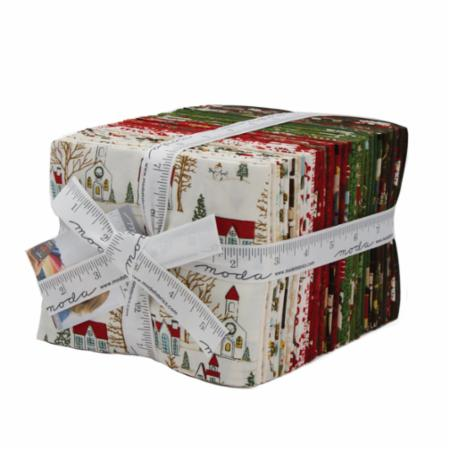 Moda Fat Quarter Bundle - Winter Village by Basic Grey