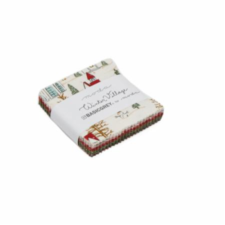 Moda MINI Charm - Winter Village by Basic Grey