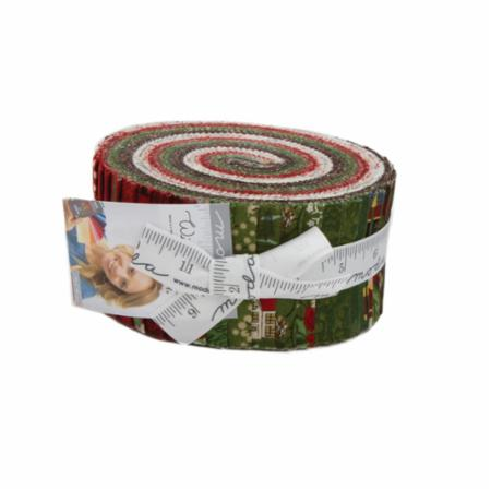 Moda Jelly Roll - Winter Village by Basic Grey