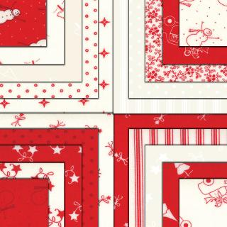 Moda Jelly Roll - Winter Wonderland by Bunny Hill Designs
