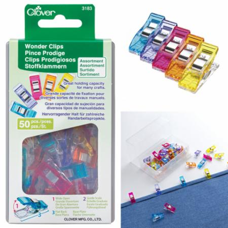 Wonder Clips Assorted Colors 50ct