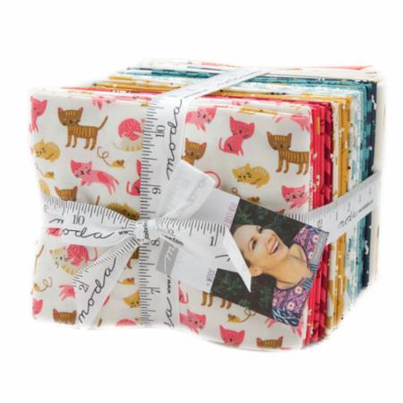 Moda Fat Quarter Bundle - Woof Woof Meow by Stacy Iest Hsu