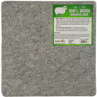 Wool Ironing Mat 14 Inch