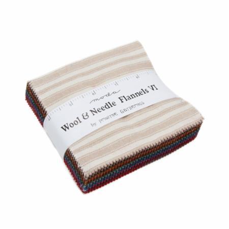Moda Charm Pack - Wool & Needle VI by Primitive Gatherings