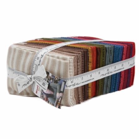 Moda Fat Eighth Bundle - Wool & Needle VI by Primitive Gatherings
