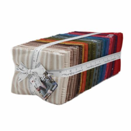 Moda Fat Quarter Bundle - Wool & Needle VI by Primitive Gatherings