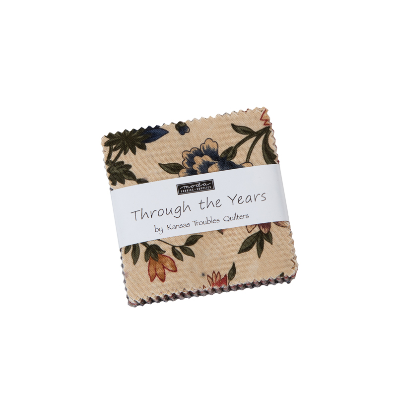 Moda Mini Charm - Through The Years by Kansas Troubles Quilters