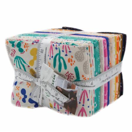 Moda Fat Quarter Bundle - Yucatan by Annie Brady