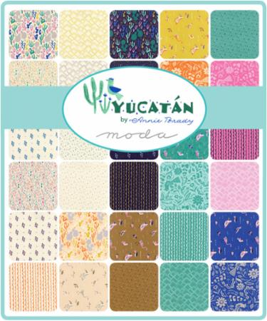 March/18 - Yucatan Charm Pack