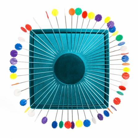 Zirkel Magnetic Pincushion Turquoise